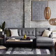 28 west elm crosby sofa sectional crosby mid century 2
