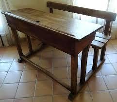 bureau ecolier en bois bureau ecolier en bois bureau bois poupees pupitre bois vintage