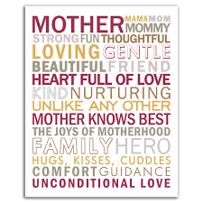 Mother Subway Art Another Printable From Simple Crafter To Celebrate Mothers Day
