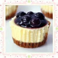 Mini Blueberry Cheesecake