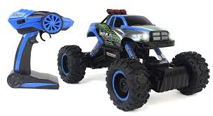 100 Truck Suspension Amazoncom CrossCountry Racing Rock Crawler 4WD Toy Blue Rally