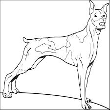 Big Dog Coloring Page