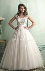elegant ivory organza ball gown delicate beaded wedding dress with