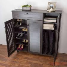 Boot Cabinet by Shoe Cabinet Outdoor Shoe Rack Boot Storage Bench Black Shoe