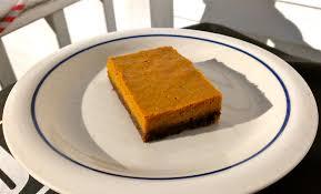 Gingersnap Pumpkin Pie Crust by Pumpkin Pie Bars With Gingersnap Crust Dessert Freak