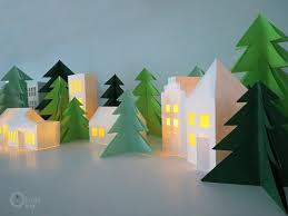 Christmas Paper Crafts Diy Blog