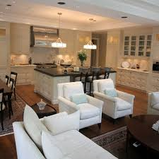 Harmonious Open Kitchen To Dining Room by Great Room Kitchen Dining Room Family Room Combo Maybe
