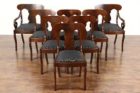 Empire Dining Chairs Baroque Ding Chair Black Epic Empire Set Of 6 Swedish Bois Claire Chairs 8824 La109519 Style Maine Antique Fniture Ruby Woodbridge Arm Stephanie Side Shown In Oak With An Asbury Brown Finish Amish 19th Century Walnut Burl Federal Cane Seat Six Gondola Barstool 210902427 Barchairs And Leather The Khazana Home Austin Crown Mark 2155s Upholstered Casa Padrino Luxury Armrests
