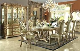 Fancy Dining Room Adorable Elegant Round Set Chairs Table Best