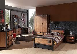 chambre industriel une chambre complète pour adolescent au style industriel