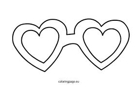 Heart Shape Coloring Pictures