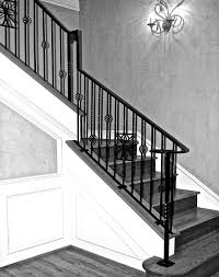 INDOOR RAILING-CUSTOM WROUGHT IRON WORK Wrought Iron Stair Railing Idea John Robinson House Decor Exterior Handrail Including Light Blue Wood Siding Ornamental Wrought Iron Railings Designs Beautifying With Interior That Revive The Railings Process And Design Best 25 Stairs Ideas On Pinterest Gates Stair Railing Spindles Oil Rubbed Balusters Restained Post Handrail Photos Freestanding Spindles Installing