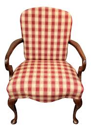 Gingham Goose Neck Armchair | Chairish Amazoncom Kfine Youth Upholstered Club Chair With Storage Best 25 Bedroom Armchair Ideas On Pinterest Armchair Fireside Chic A Classic Wingback Chair A Generous Dose Of Gingham And Ottoman Ebth Pink Smarthomeideaswin Armchairs Traditional Modern Ikea Fantasy Fniture Roundy Rocking Brown Toysrus Idbury In Ol Check Wesleybarrell Chairs For Boys For Cherubs Wonderfully Upholstered Black White Buffalo Check