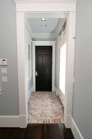 Floor And Decor Houston Area by One Of Our Many Beautiful Hallways Featuring Custom Herringbone