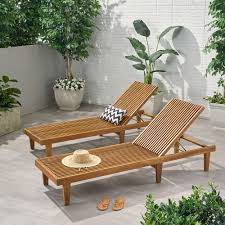 Nadine Outdoor Adjustable Wood Chaise Lounge (Set Of 2) By Christopher  Knight Home Safavieh Inglewood Brown 1piece All Weather Teak Outdoor Chaise Lounge Chair With Yellow Cushion Keter Pacific 1pack Allweather Adjustable Patio Fort Wayne Finds Details About Wooden Outindoor Lawn Foldable Portable Fniture Pat7015a Loungers By Best Choice Products 79x30inch Acacia Wood Recliner For Poolside Wslideout Side Table Foampadded Cambridge Nova White Frame Sling In Navy Blue Diy Chairs Ana Brentwood Mid20th Century British Colonial Fong Brothers Co 6733 Wave Koro Lakeport Cushions Onlyset Of 2beige