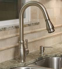 Pull Down Kitchen Faucets Brushed Nickel by Decorative 15 1 2