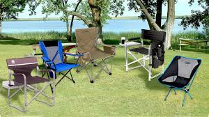Coleman Oversized Padded Quad Chair Side Cooler by 5 Best Folding Chairs For The Camping Picnic Fishing And Beach