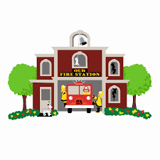 100 Clipart Fire Truck 19 Truck Image Royalty Free Library Fire Station HUGE FREEBIE