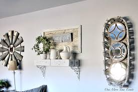 DIY Farmhouse Projects Living Room Wall Decor Rustic