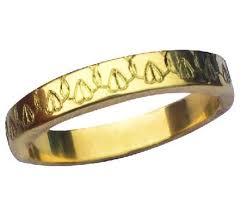 glücklich ring graviert 4 mm breit 14 k gold band neuheit gesprächsstoff ring feministische gold ring ring