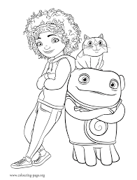 Tip Pig And Oh Coloring Page