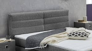 boxspringbett franzie bett schlafzimmerbett schwarz mit