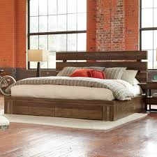 Bedroom Cal King Storage Bed California King Pedestal Bed