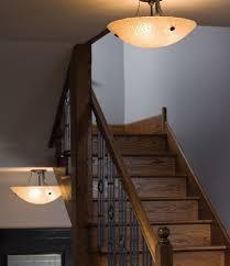 cool ideas of step lighting and hallway lights