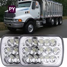 100 Ford Sterling Truck 2pcs LED Headlight Beam Headlamp Fit For Lt9513