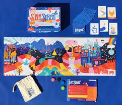 SILLY STREET A NEW BOARD GAME FOR KIDS THAT INSPIRES PLAY WITH PURPOSE