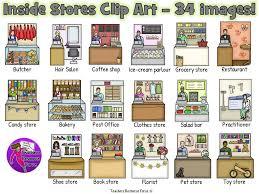 Inside Stores Clip Art