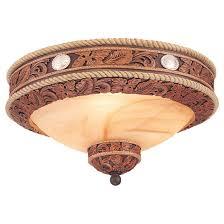 monte carlo durango western bowl light kit 178459 lighting at