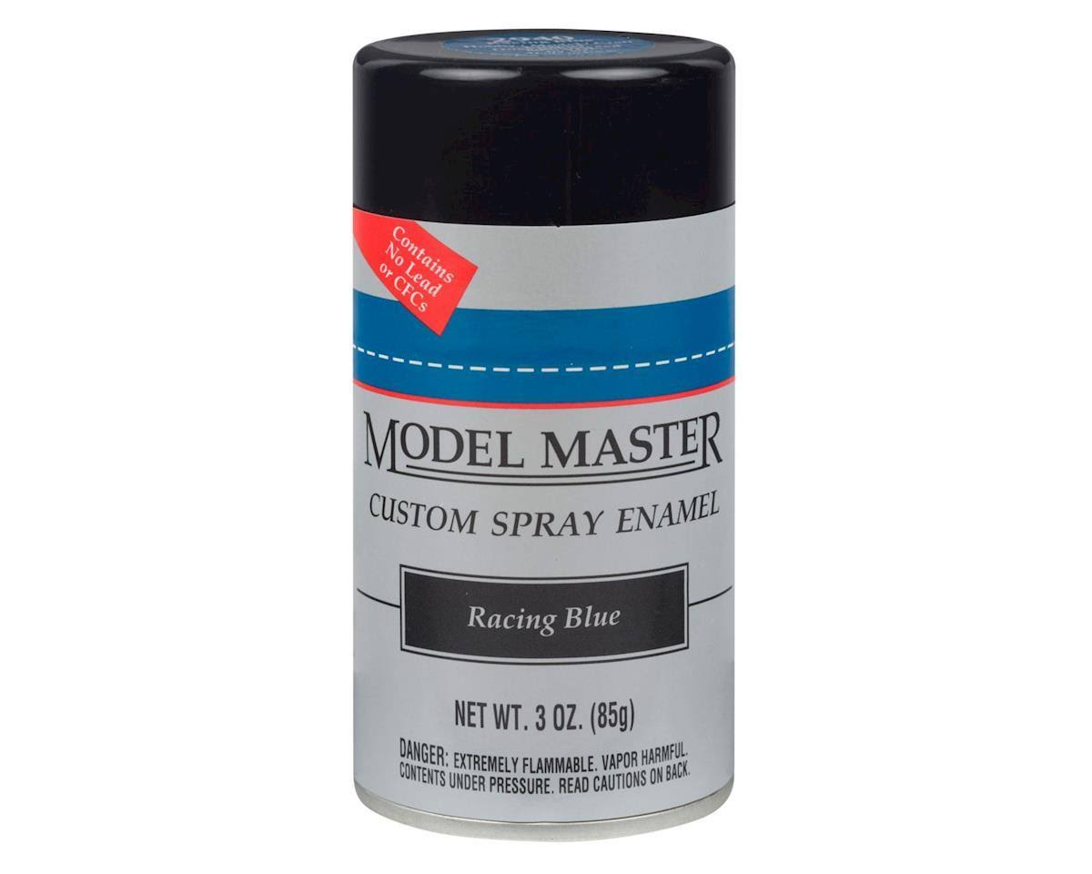 Model Master Spray Racing Blue Enamel Paint 3 oz Testors 2940