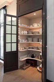 Storage Area In The Kitchen