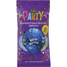Party Balloons Happy Birthday image