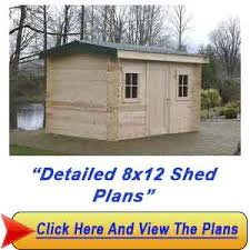 8 12 shed plans steps for constructing your own shed