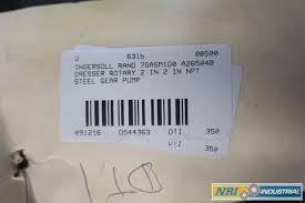 Ingersoll Dresser Pumps Chesapeake Va by Ingersoll 7gasm1d0 Dresser 2 In Steel Rotary Gear Pump D544363