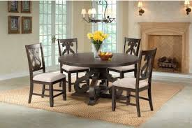 Stone Round Table Dining Room