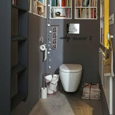 étourdissant idee deco toilette avec toilette suspendu deco wc sur