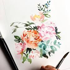 Abstract Floral By Lemontree Calligraphy Illustration Lemontreecalligraphy