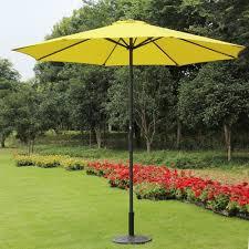 9 Ft Patio Umbrellas With Tilt by Amazon Com 9 Foot Decorative Market Umbrella With Crank And Tilt