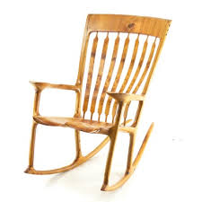 sam maloof rocking chair class custom rocking chairs woodworking