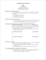 Great Work Skills Resume Good For Basic Examples Of A Activities