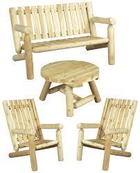 mobilier canapé mobilier de salon en bois canapé et fauteuil n 1h cèdre