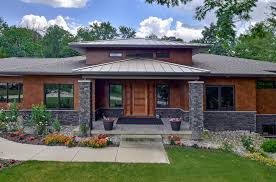 Prairie House Designs by Modern Prairie Style House Plans 1045 Skyevale Ada Mi 49301