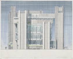 100 Architect Paul Rudolph Yale University Art And Ure Building New