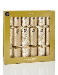 luxury gold crackers m s