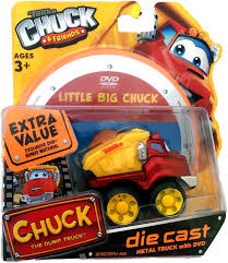 99 Chuck The Talking Truck Tonka Friends Dumptruck Die Cast Metal