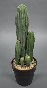 details zu säulenkaktus 42cm im topf dp kunstpflanzen künstliche kakteen pflanzen