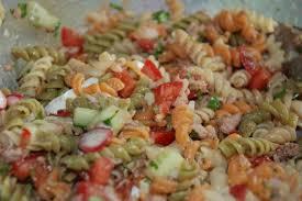 salade de pâtes au thon recette de salade de pâtes au thon par